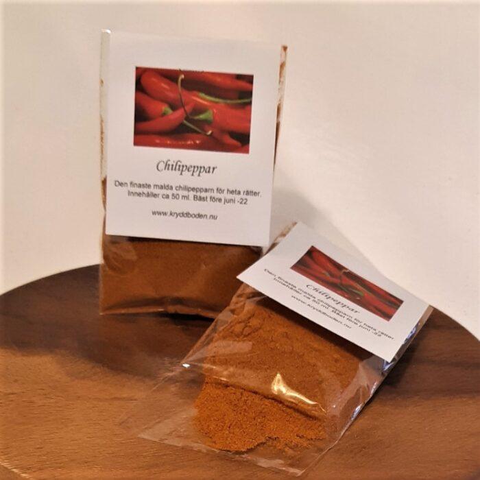 Chilipeppar Tynderö Kryddbod