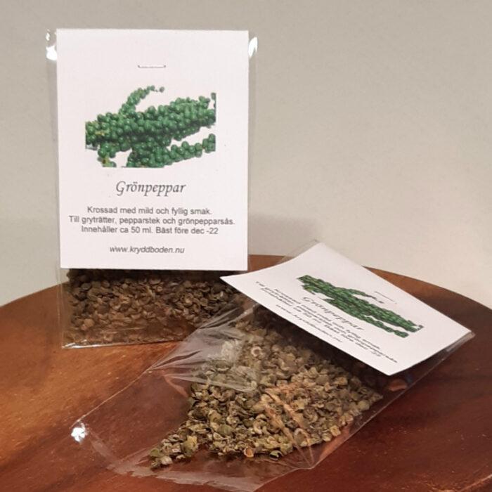Grönpeppar Tynderö Kryddbod